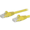 StarTech.com 125ft Yellow Cat6 Patch Cable with Snagless RJ45 Connectors - Long Ethernet Cable - 125 ft Cat 6 UTP Cable
