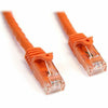 StarTech.com 3 ft Orange Snagless Cat6 UTP Patch Cable