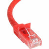 StarTech.com 75 ft Red Snagless Cat6 UTP Patch Cable