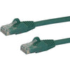 StarTech.com 7 ft Green Snagless Cat6 UTP Patch Cable