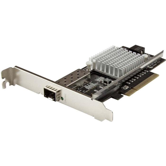 StarTech.com 1-Port 10G Open SFP+ Network Card - PCIe - Intel Chip - MM/SM - PCI Express 10G NIC with Open SFP+
