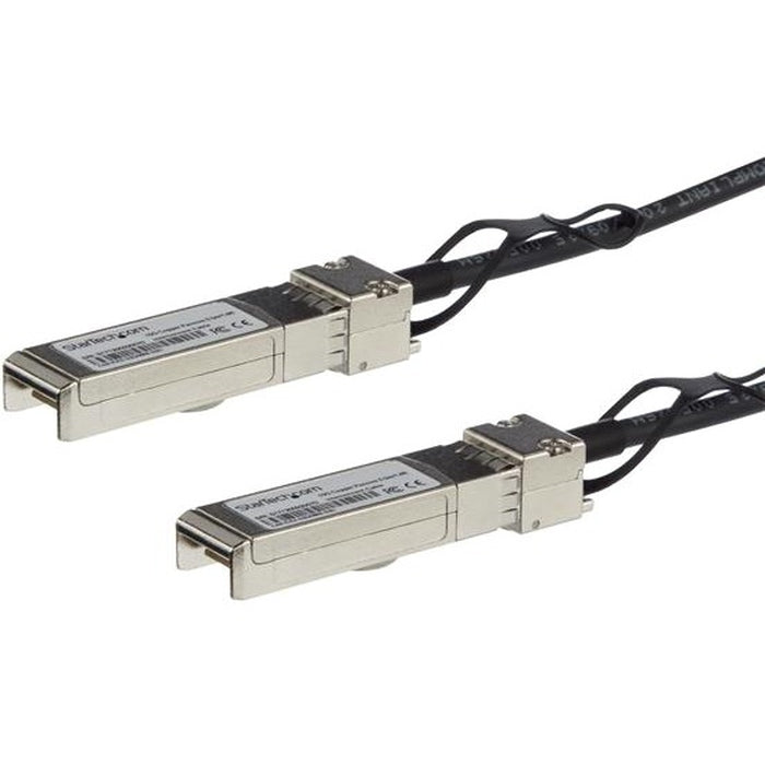 StarTech.com 1m 3.3 ft SFP+ Direct Attach Cable - MSA Compliant - 10Gb SFP+ Cable - SFP+ Passive Cable