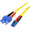 StarTech.com 7m Fiber Optic Cable - Single-Mode Duplex 9/125 - LSZH - LC/SC - OS1 - LC to SC Fiber Patch Cable