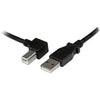 StarTech.com 1m USB 2.0 A to Left Angle B Cable - M/M