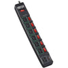 Tripp Lite Eco Surge Protector Power Strip Green 7-Outlet 6ft Cord, Black