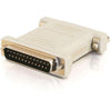 DB25 M/F NULL MODEM ADAPTER -