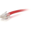 3FT CAT5E RED UTP PATCH - NO BOOTS
