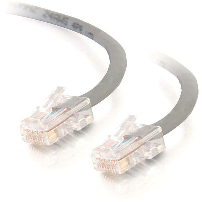 10FT CAT5E GRAY RJ45 M/M - CROSSOVER PATCH CABLE
