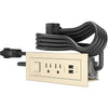 RADIANT FURN SWPOWER 2OUT 2USB - ALMON