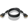 6FT DUAL LINK DVI-I VIDEO CABLE - W/ GOLD PLATED CONNECTORS