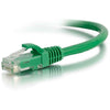9FT CAT5E GRN SNAGLESS UTP CABL -