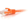 8FT CAT5E ORG SNAGLESS UTP - CABLE