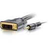 10FT PRO SERIES DVI-D + 3.5MM CL2 M/M DUAL LINK DIGITAL VIDEO CABLE