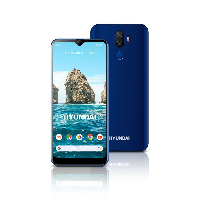 "Hyundai Eternity G60 6"" 4G MTK6739 - 3GB/32GB 8MP/13MP AF +0.3MP Android 9.0 - Blue"