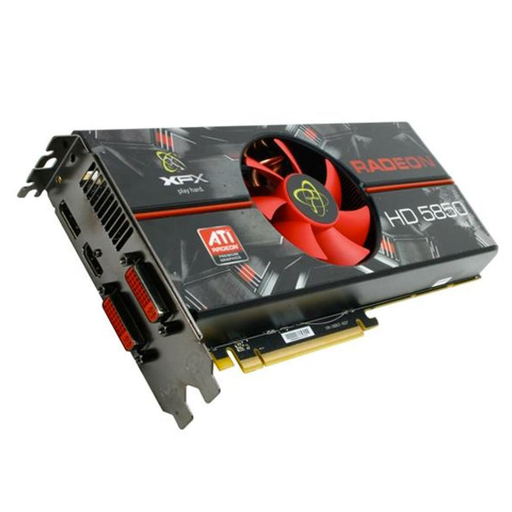 Tarjeta de vídeo XFX ATI Radeon HD 5850 1 GB ddr5 2DVI/HDMI/DisplayPort PCI-Express