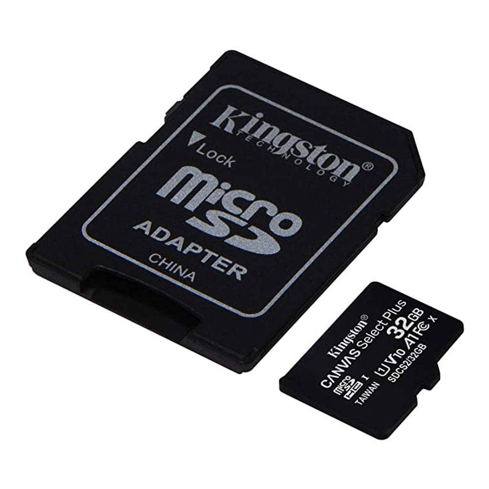 Memoria MicroSDHC Kingston Canvas Select Plus 32GB Class 10/UHS-I (U1)
