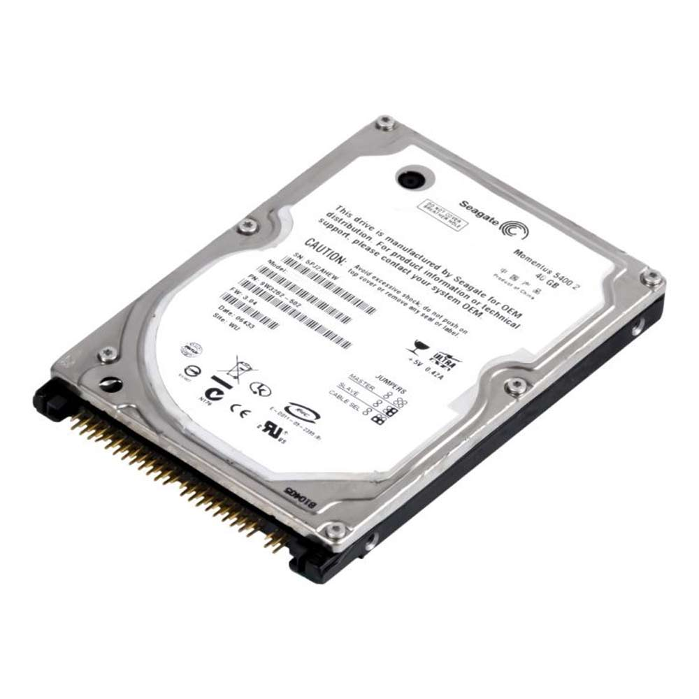 "Disco Duro Interno Seagate Momentus 5400.2 ST94813AS 40GB 2.5"" - SATA"