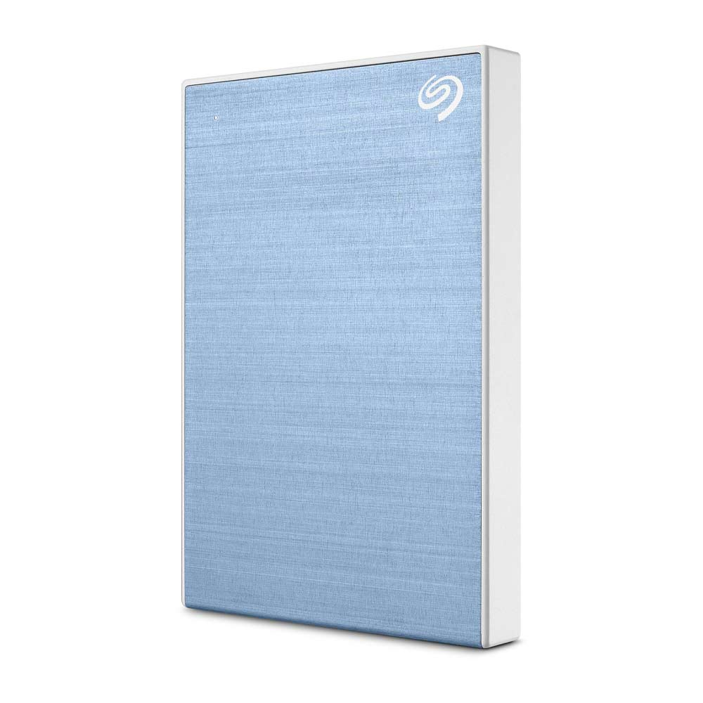 Seagate Backup Plus Slim STHN1000402 1TB Hard Drive External Portable USB 3.0 - Light Blue