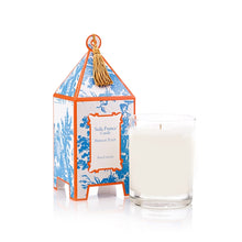 Load image into Gallery viewer, Seda France Classic Toile Pagoda Box Candle
