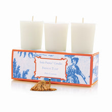 Load image into Gallery viewer, Seda France Classic Toile Votive Candles
