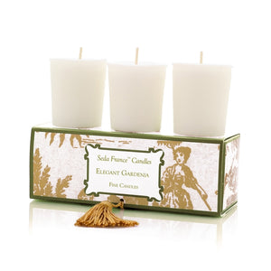 Seda France Classic Toile Votive Candles