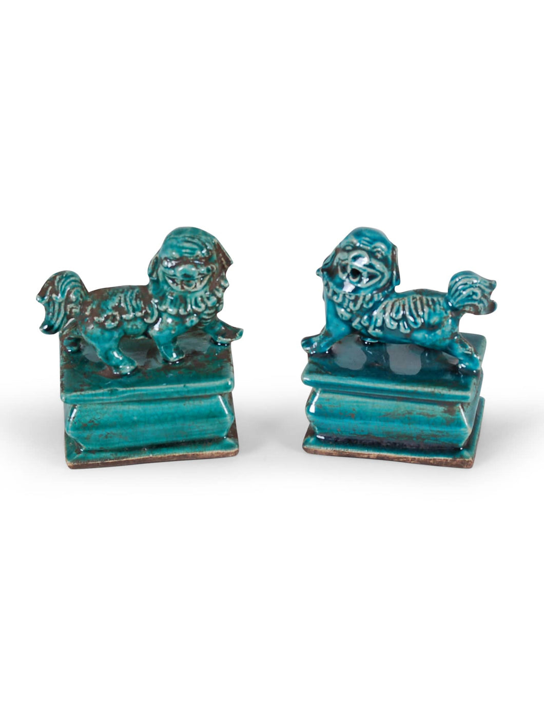 Phoenix Green Small Foo Dogs