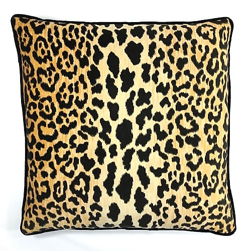 Jamil Velvet Cheetah Pillow