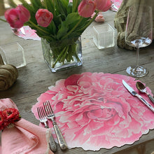 Load image into Gallery viewer, Die Cut Peony Placemat