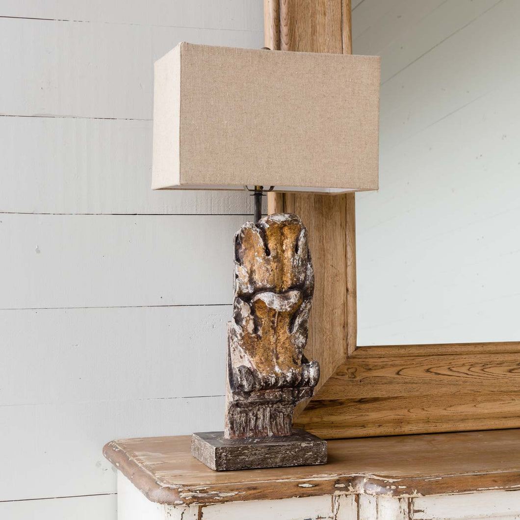 Acanthus Leaf Architectural Relic Lamp