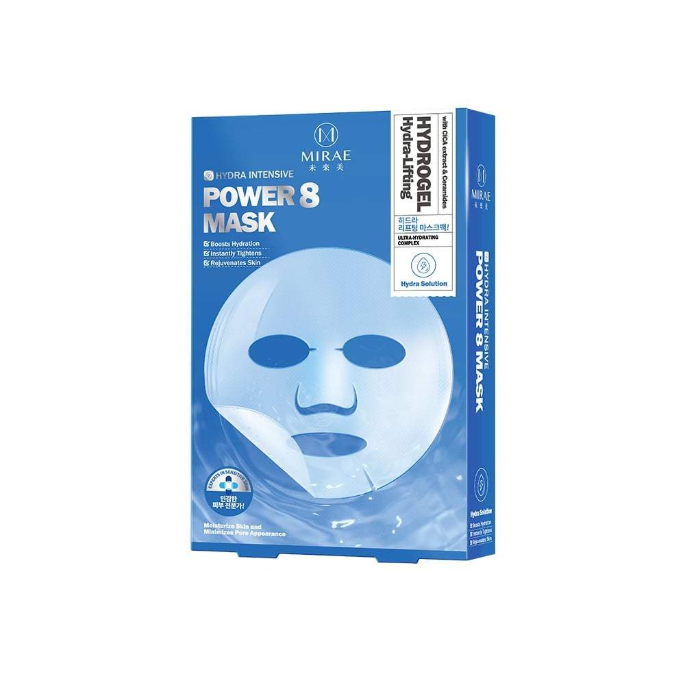 MIRAE Power 8 Hydra-Lifting Hydrogel Mask 3s - mirae-beauty-8-malaysia