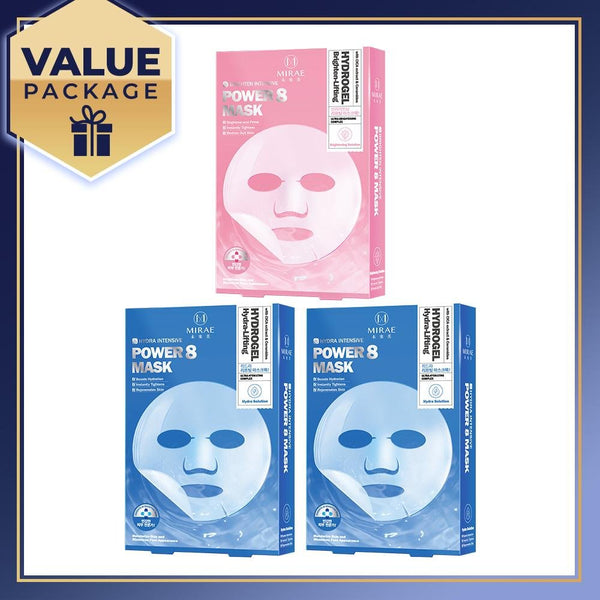MIRAE Power 8 Hydrogel Mask Set x 3 Boxes - mirae-beauty-8-malaysia