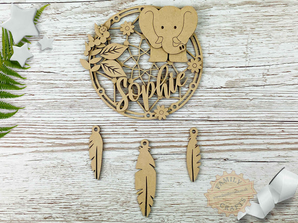 elephant nursery dreamcatcher