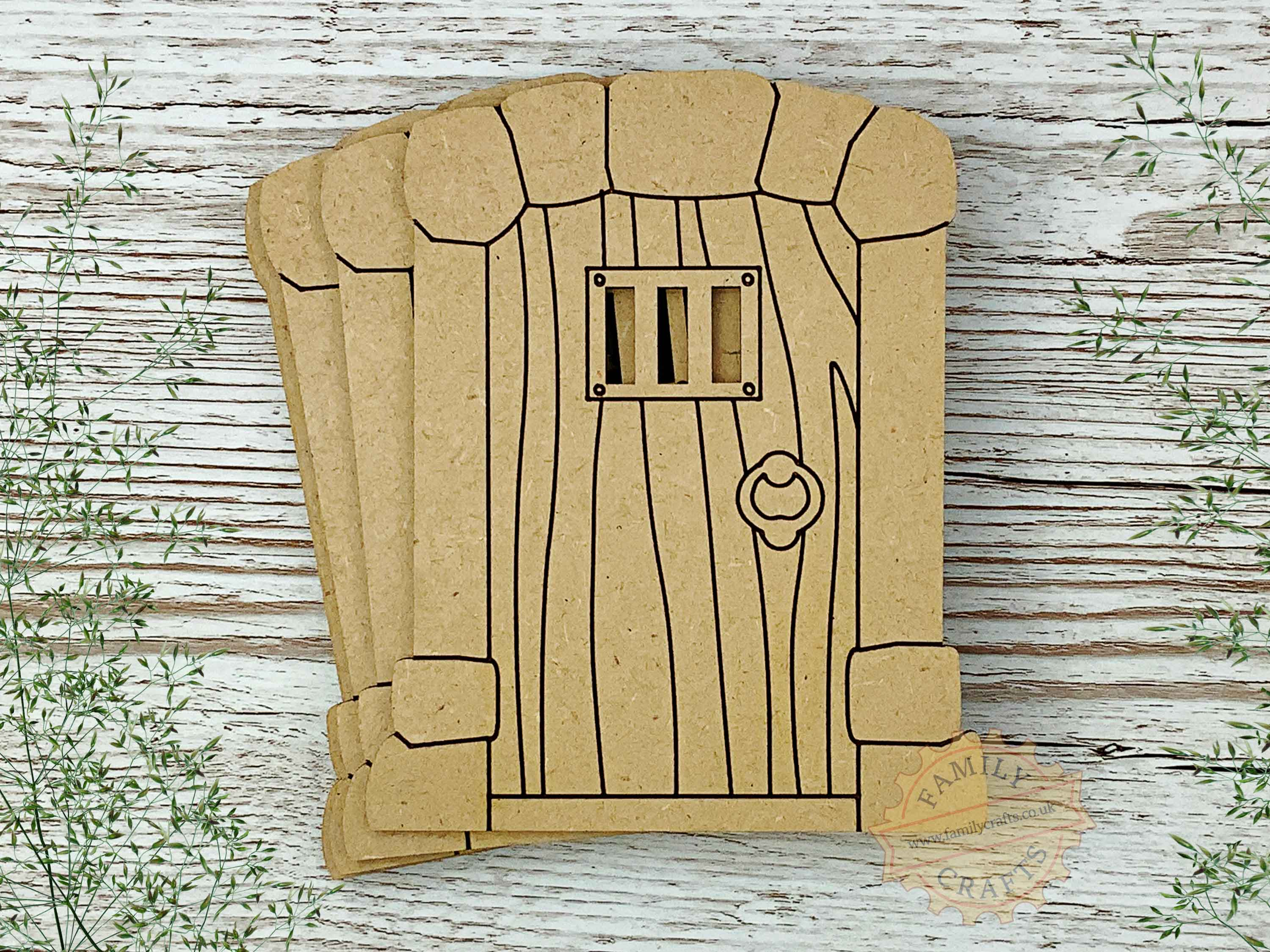 stone pillar fairy door 10 pack with woodgrain