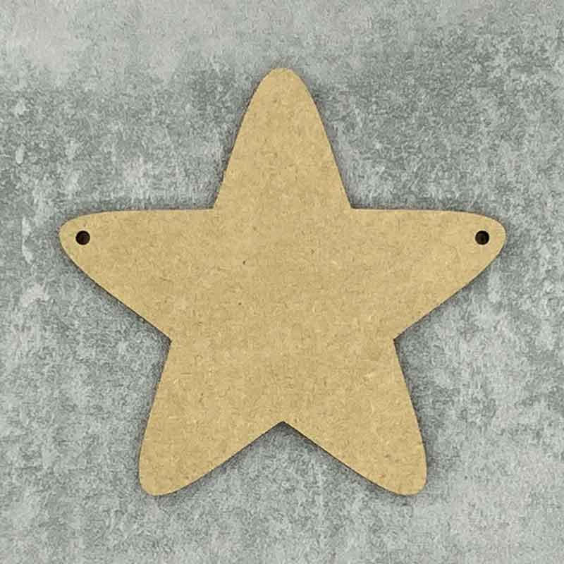rounded star 2 holes