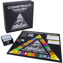 Load image into Gallery viewer, Conspiracy Theory Trivia Board Game - ShopNeddy