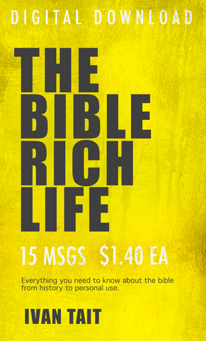 The Bible Rich Life