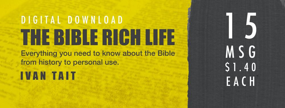 The Bible Rich Life Series