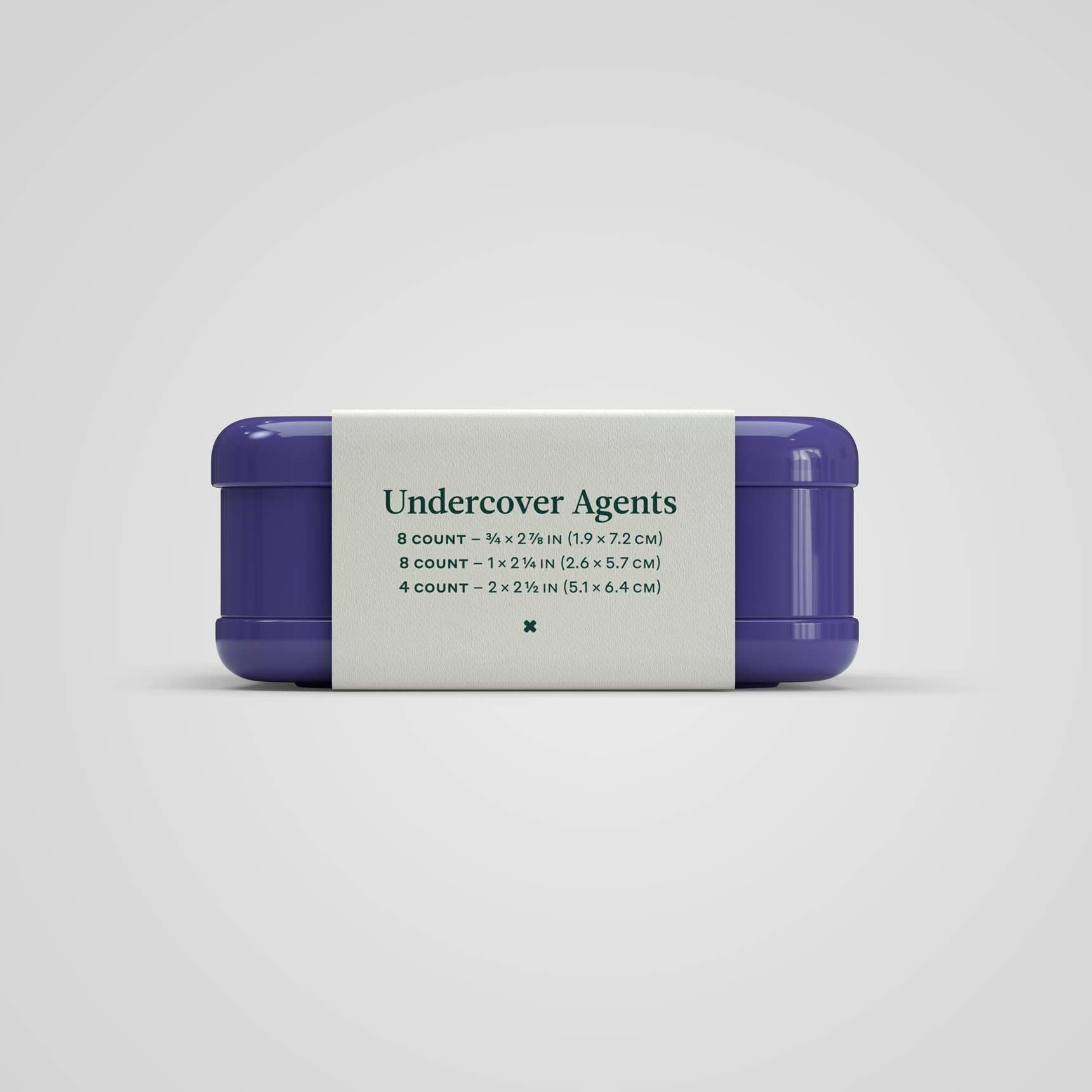 Undercover Agents (Assorted Hydrocolloid Bandages)