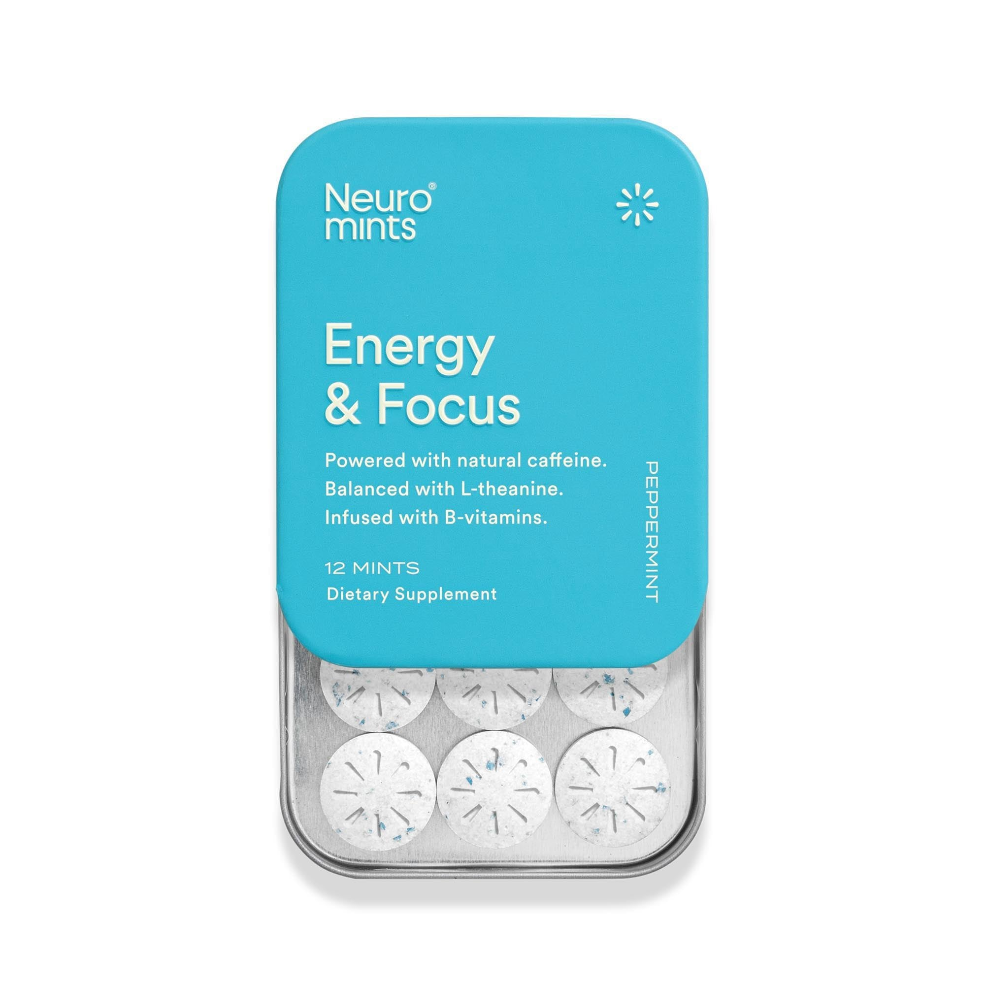 Energy and Focus Mints (Peppermint)