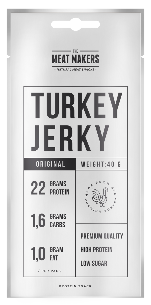 TURKEY JERKY ORIGINAL 40G