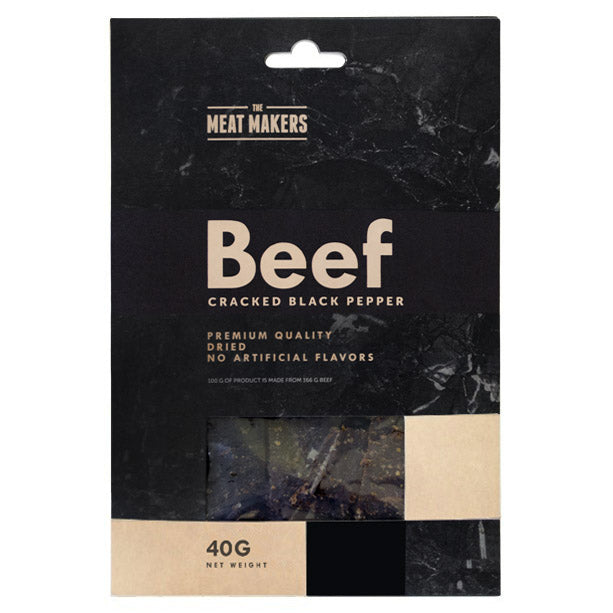 CRACKED BLACK PEPPER DRIED BEEF 40 G