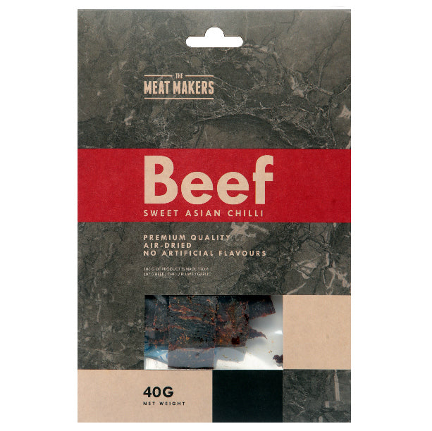 SWEET ASIAN CHILLI DRIED BEEF 40 G