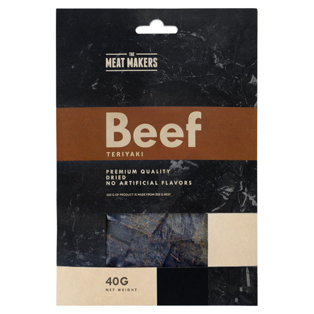 TERIYAKI DRIED BEEF 40G