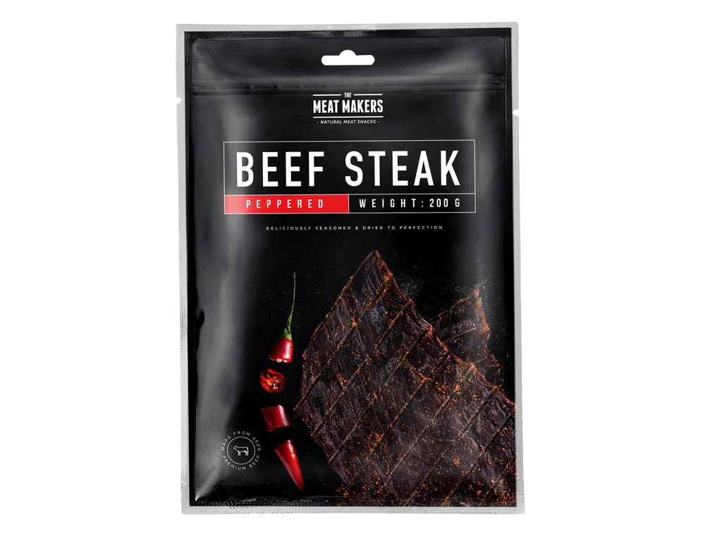 PEPPERED DRIED BEEF STEAK 200 G