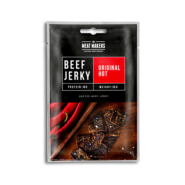 ORIGINAL HOT SOFTER BEEF JERKY 25G