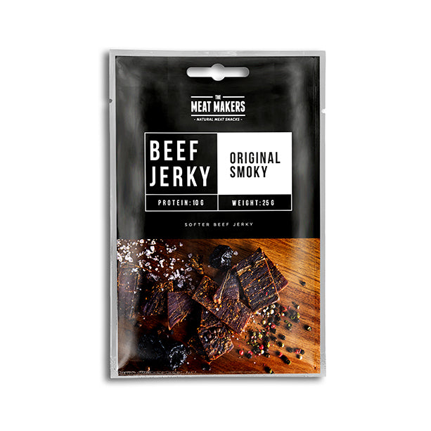 ORIGINAL SMOKY SOFTER BEEF JERKY 25G