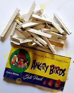 Angry Birds Brand Broken Slate Pencils 25grams Sample