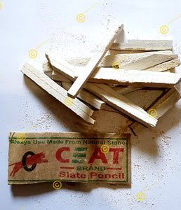 CEAT Broken Slate Pencils 25grams Sample