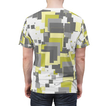 "Load image into Gallery viewer, ""Square the Rose"" Unisex AOP Cut & Sew Tee"