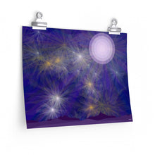 "Load image into Gallery viewer, GenArt ""It's a Blue Starry Night"" Premium Matte horizontal posters"
